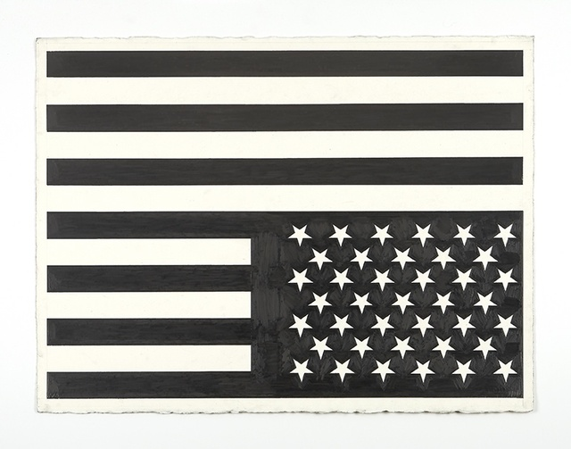 , 'No Title (flag/american recordings),' 2015, Rodolphe Janssen