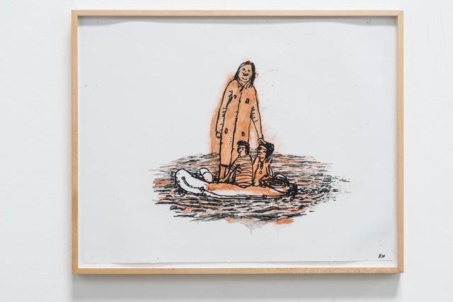 , 'Tallest Woman/Richest Man,' 2014, Rosamund Felsen Gallery