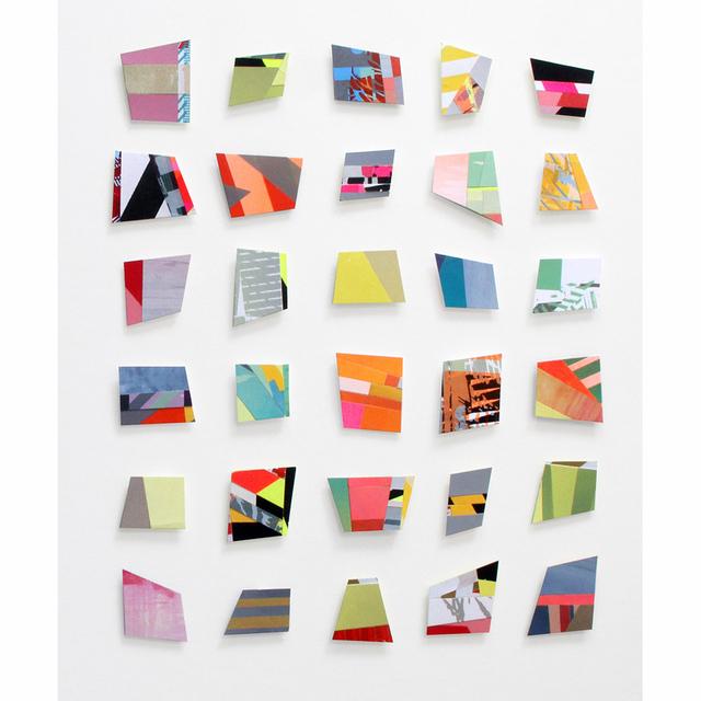 , 'Distinct Zones (X30),' 2014, InLiquid