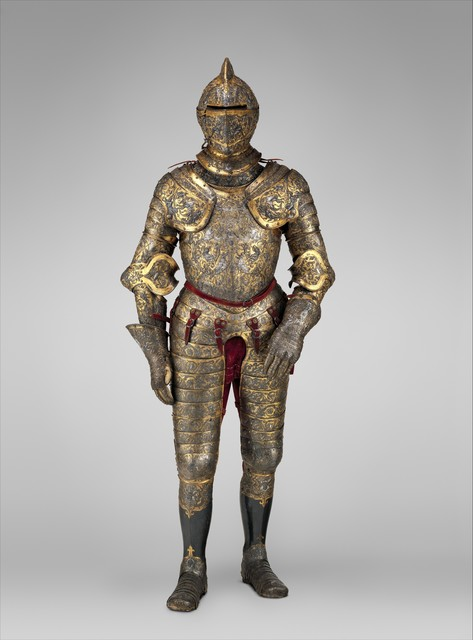 Possibly Jean Cousin the Elder, 'Armor of Henry II, King of France (reigned 1547–59)', ca. 1555, The Metropolitan Museum of Art