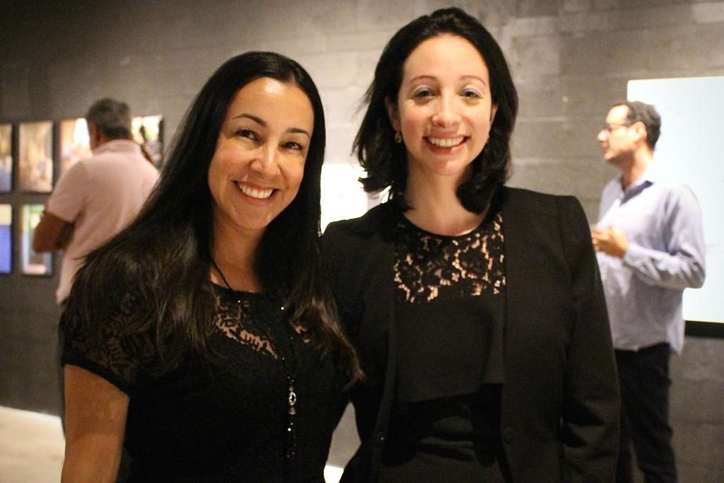Carré Art Director/Founder (Flávia M. Pecego) & LAND+BODY=Escape curator (Tatiane Schilaro)