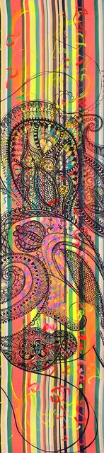 , 'Wallpaper I, Vertical Striped Paisley,' 2017, Newzones