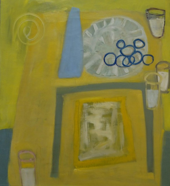 , 'Milk, Cookies, Blue Vase,' , Cerulean Arts