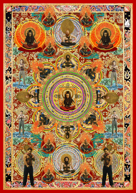 , 'Moving Gods Thangka 移动神佛唐卡,' 2015, ART LABOR Gallery