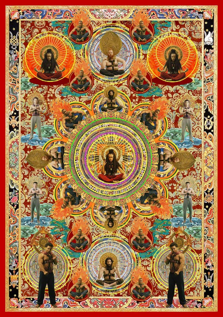 Moving Gods Thangka 移动神佛唐卡