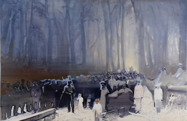 , 'La forêt est là et me regarde..., ,' 2013-2015, Bendana   Pinel