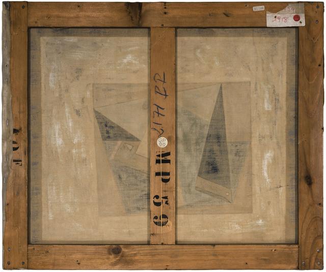 Philippe Gronon, 'Verso n°61, Verre et pipe, par Pablo Picasso, collection Musée national Picasso, Paris', 2016, Modernism Inc.