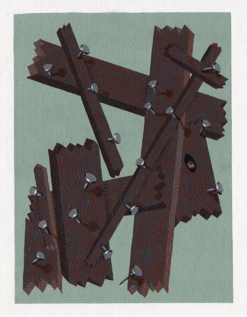 , '100 Rings, (Victory),' 2015, PAULNACHE