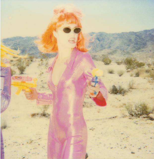 Stefanie Schneider, 'Radha Shooting I (Stranger than Paradise)', 1999, Photography, Digital C-Print, based on a Polaroid, Instantdreams
