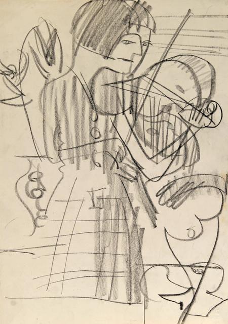 , 'Die Violinistin ,' ca. 1930, Henze & Ketterer