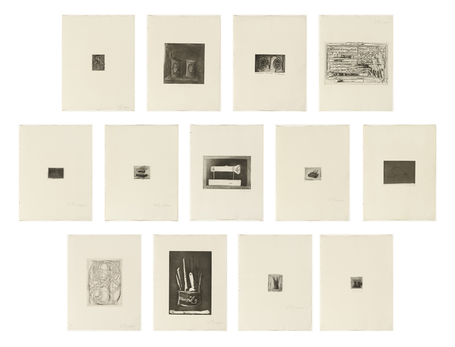 , '1st Etchings, 2nd State,' 1969, Carolina Nitsch Contemporary Art