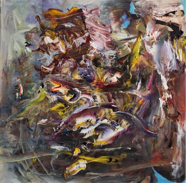 Dan Maciuca, 'Wind Movement ', 2020, Painting, Oil on canvas, Zorzini F Gallery