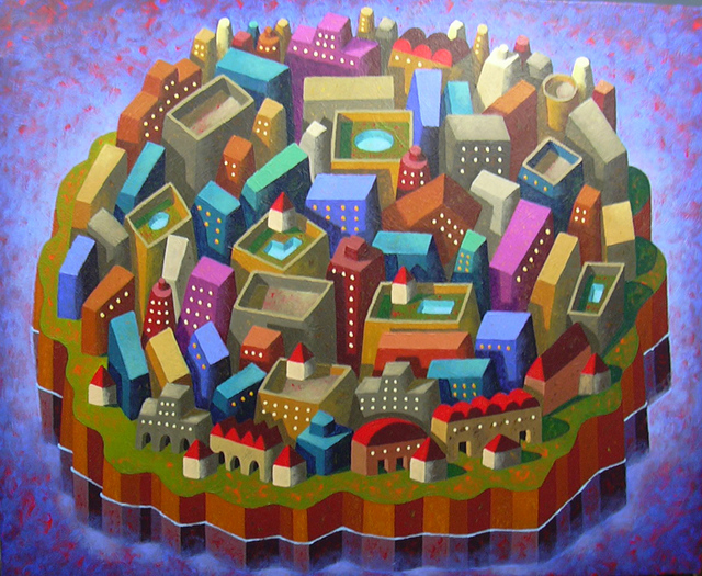 , 'Urban Island,' 2016, GALERIA JORDI BARNADAS