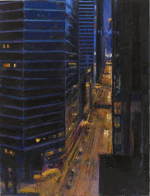 , 'From Hotel Window, Night,' 2015, John Martin Gallery