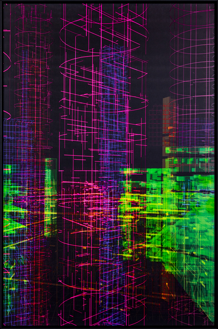 , 'Meta-Cities (Cyber-Architecture) 6,' 2018, The Mayor Gallery