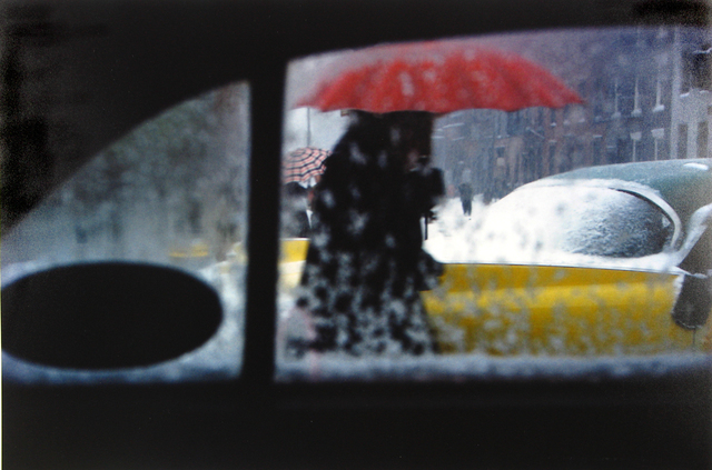 , 'Red Umbrella,' ca. 1955, Howard Greenberg Gallery