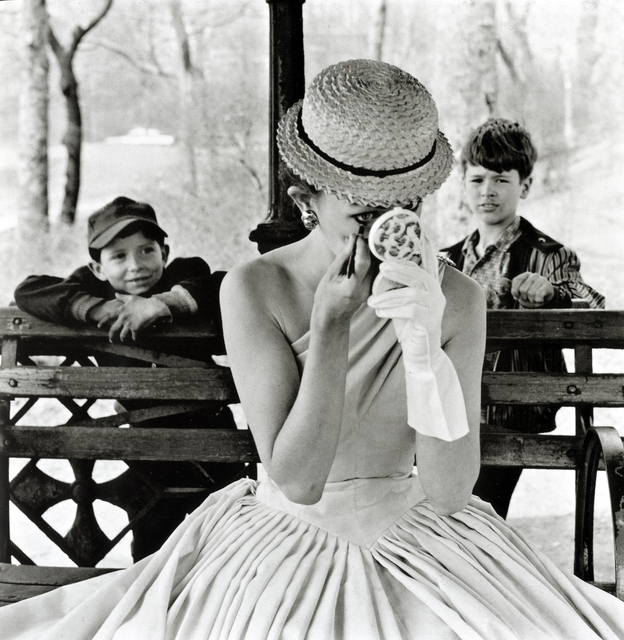 , 'Makeup, Central Park,' 1955, Bruce Silverstein Gallery