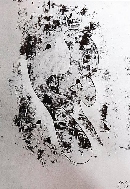 , 'Gespensterformen,' 1958, Galerie Krinzinger