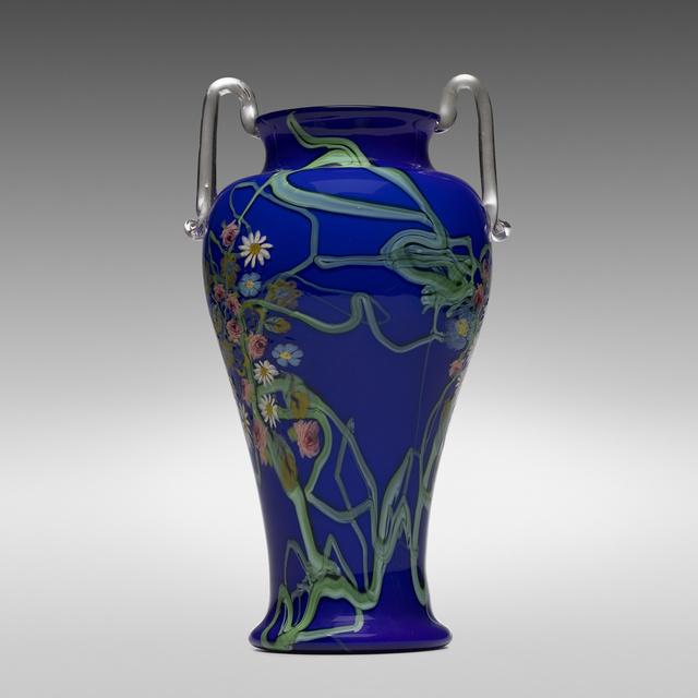Vetreria Artistica Barovier, 'A Murrine Floreali vase', c. 1920, Wright