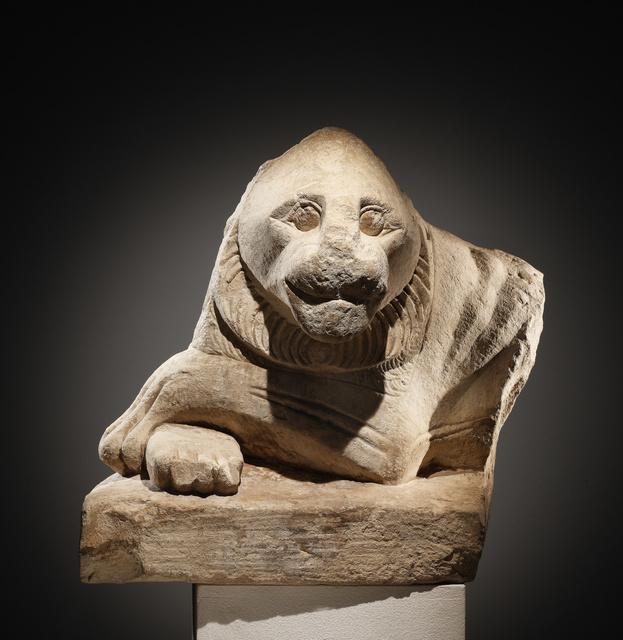 , 'A Guardian Statue of a Recumbent Lion,' , Cahn International