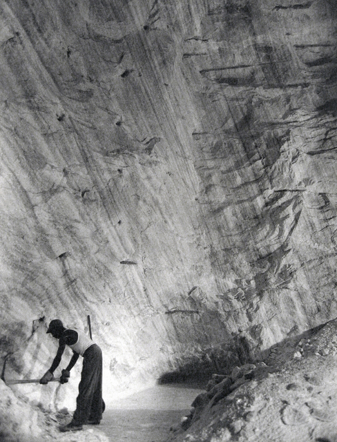 , 'Clearing the Path Along the Base of the Cliff, The Great Avery Island Salt Mine,' 1934, Keith de Lellis Gallery