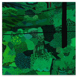 Jonas Wood, 'Green Pattern,' 2014, Sotheby's: Contemporary Art Day Auction