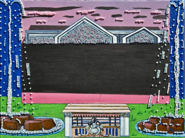 , 'Fountain and Balconies,' 2015, Sanat Initiative