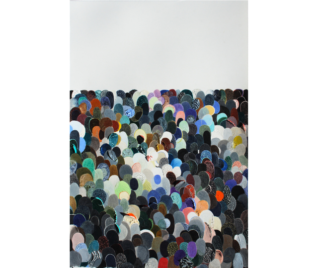 , 'Multitudes 5,' 2017, Herlitzka + Faria