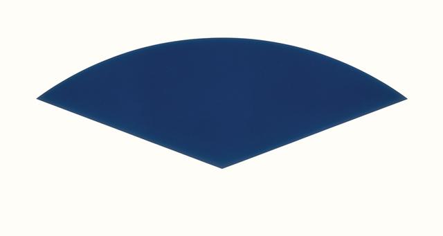 , 'Blue Curve,' 1988, Lora Reynolds Gallery