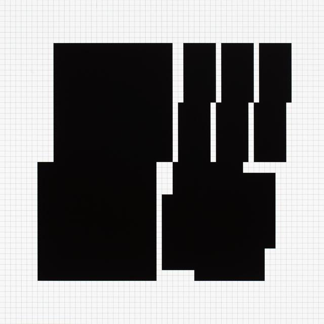 , 'koordination p3-a1 1970-1973,' 1974, VILTIN Gallery