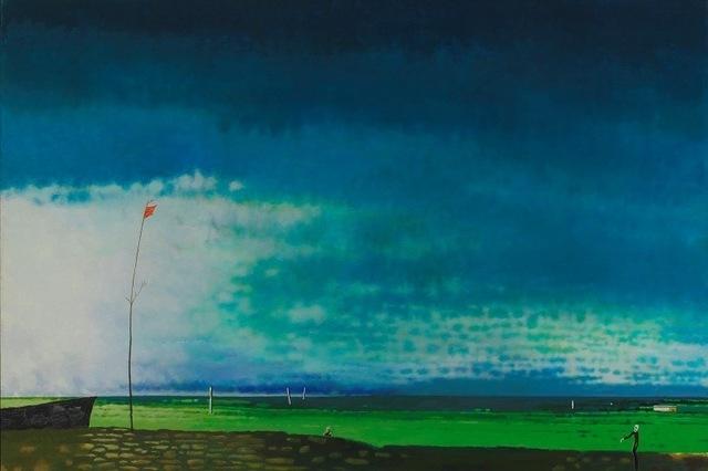 , 'Serene River,' 2009, Powen Gallery