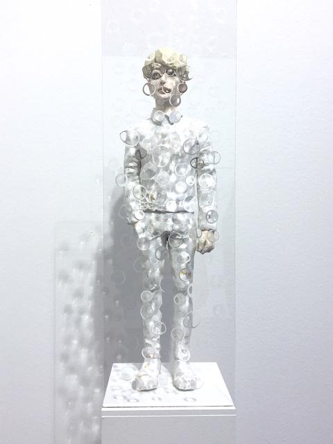 , 'utopian (lightgold),' 2017, galerie burster