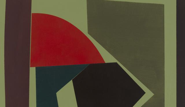 Willard Lustenader, 'Appropriations were Stabilyzed ', 2017, Painting, Alkyd on panel, FRED.GIAMPIETRO Gallery