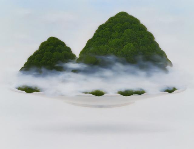 , 'Moss on Bowl (mountain),' 2015, Eugene Gallery