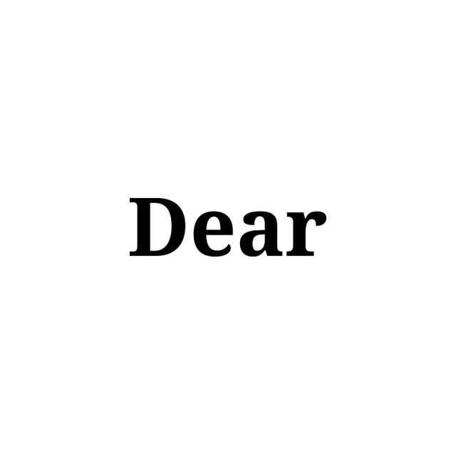, 'Dear,' 2018, Sabrina Amrani