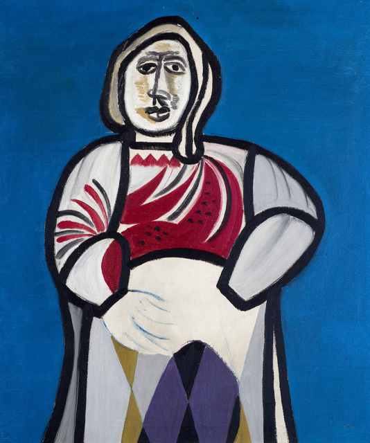 , 'Woman Seated,' ca. 1940, Ben Uri Gallery and Museum