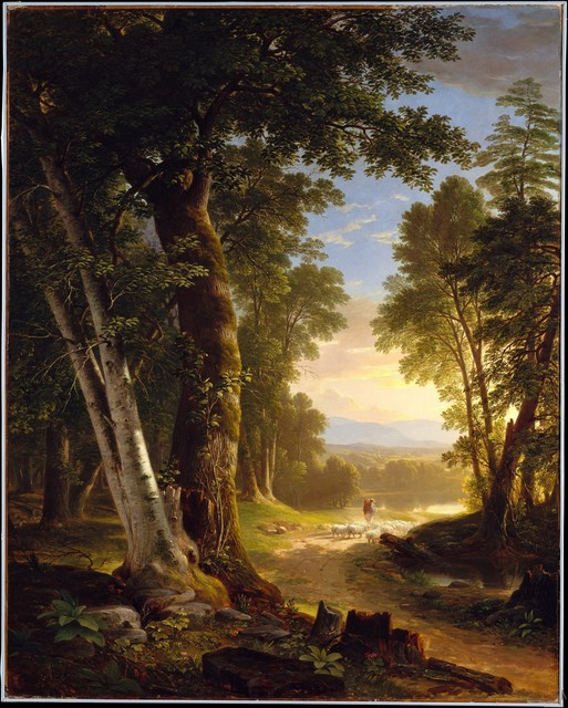 Asher Brown Durand, 'The Beeches', 1845, The Metropolitan Museum of Art
