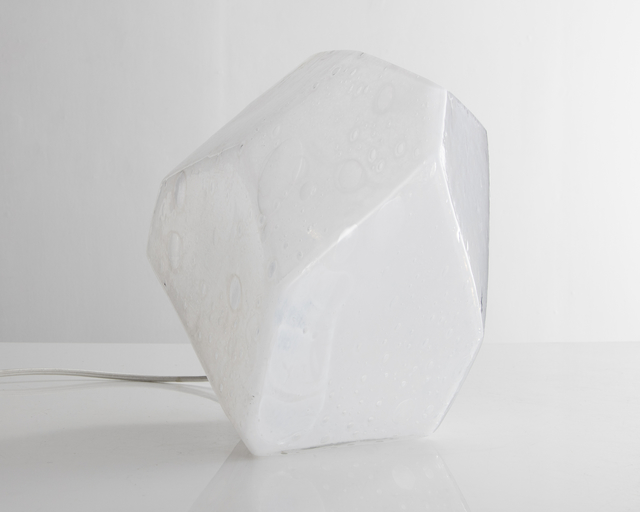 , 'Faceted Crystal table lamp in hand-blown glass,' 2015, R & Company