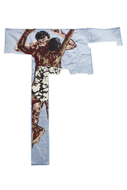 Billie Zangewa, 'Disarming mars', 2010, Textile Arts, Embroidered silk, Magnin-A