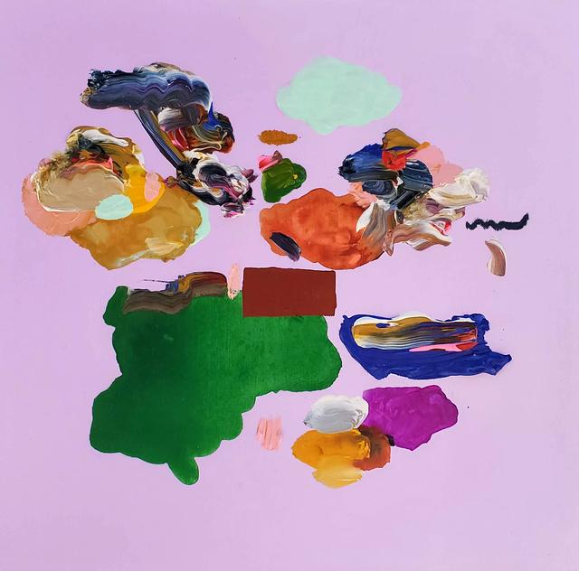 Janna Watson, 'Make Me Happy III', 2020, Painting, Mixed media on panel, Foster/White Gallery