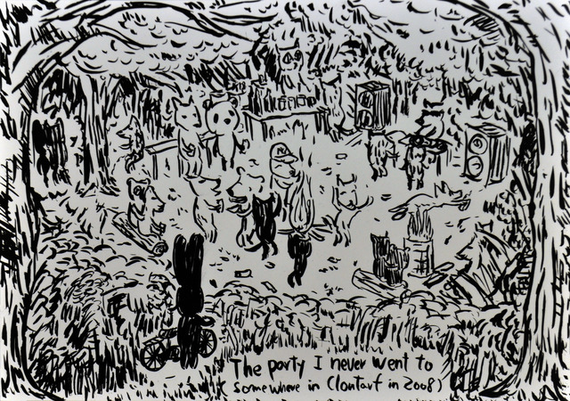 , 'The party I never went to..,' 2012, Polígrafa Obra Gráfica