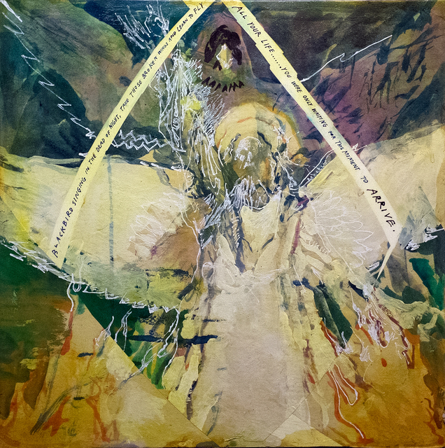 , 'The Angel and the Blackbird,' 2015, ANNO DOMINI