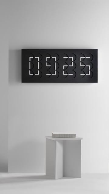 , 'Clock Clock 24, black,' 2016, Gallery ALL