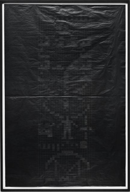, 'Arecibo (negativ),' 2016, Christine König Galerie