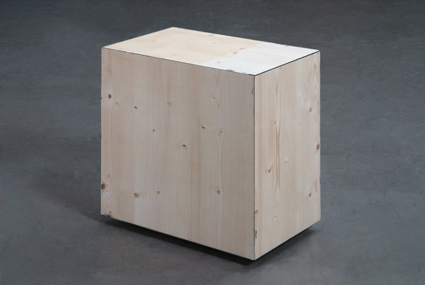 , 'Black Box 25 x 40 x 40 cm,' 2005, Philipp von Rosen Galerie