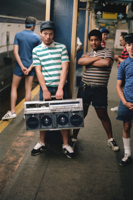 Jamel Shabazz, 'The Crew, Lower East Side, Manhattan, NYC', 1984, Photography, Chromogenic print, Galerie Bene Taschen