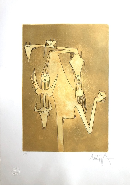 Wifredo Lam, 'La Sensualité de la Femmes Caraibes (The Sensuality of Caribbean Women)', 1980, Discoveries In Art