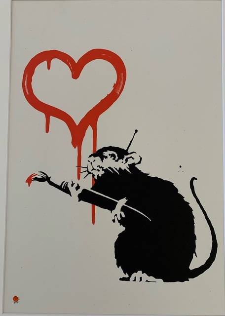 Banksy, 'Love Rat', 2004, Vroom & Varossieau