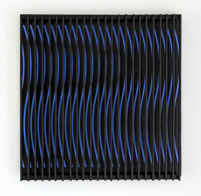 , 'Blue and Brown Kinetic Construction,' 1964, Berry Campbell Gallery
