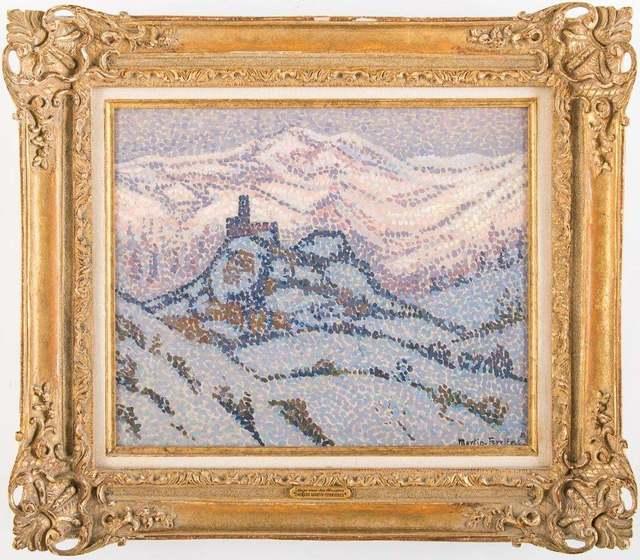 Jac Martin-Ferrieres, 'Neiges dans les Abruzzes', 1921, Trinity House Paintings